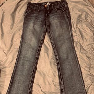 Maurices boot cut jeans.